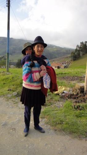 Sur la route, Equateur