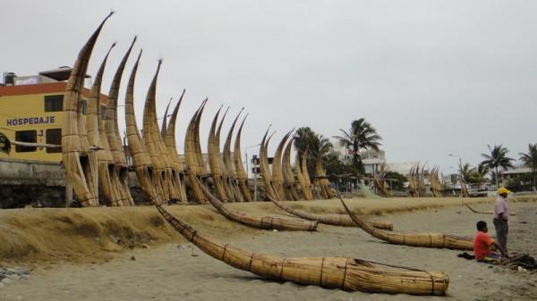 Barques bambou Trujillo