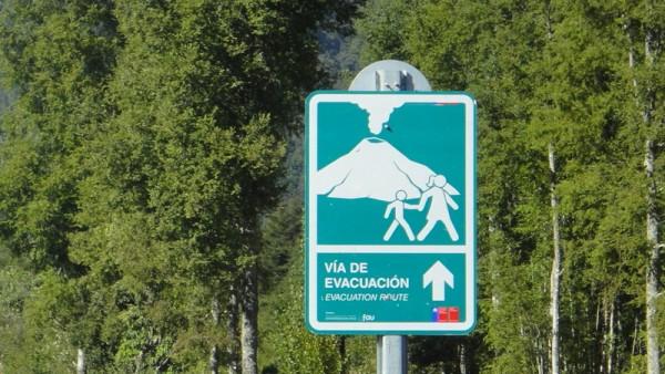 Chemin d'évacuation