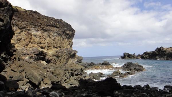 Coulée lave