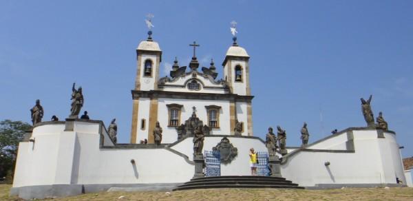 La basilique de Congonhas