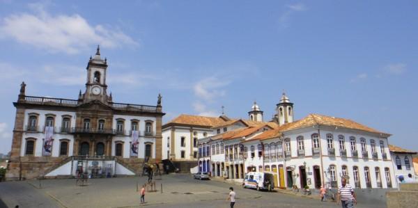 La place Tiradentes