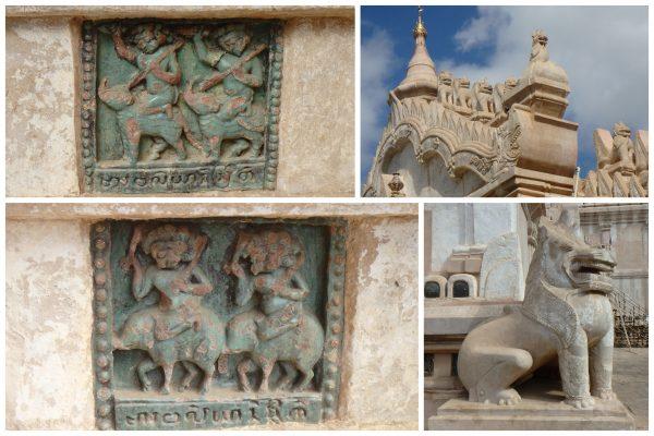 Temple plus récent mais non moins photogénique