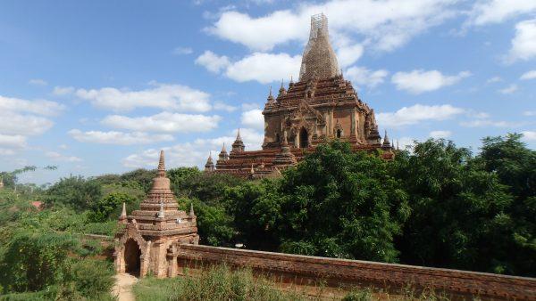 De nombreux Temples sont en cours de réparation suite au tremblement de terre du mois d'août