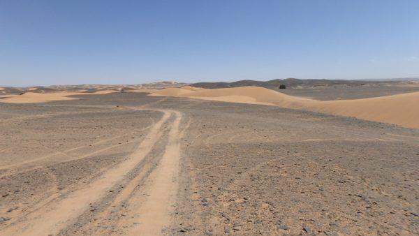 Erg Snaigui, au sud de Merzouga