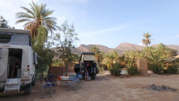 le camping de Foum Zguid