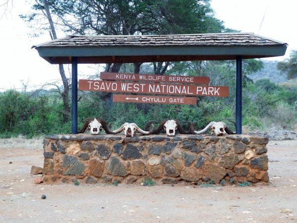 entrée du parc Tsavo