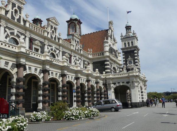 17-la gare de Dunedin