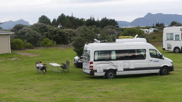 au camping