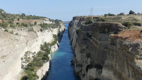 11-le canal de Corinthe