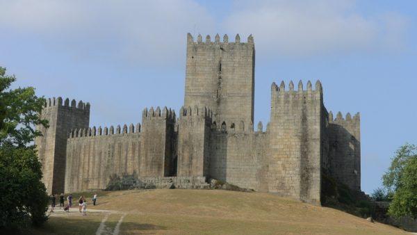 06- le chateau à Guimaraes